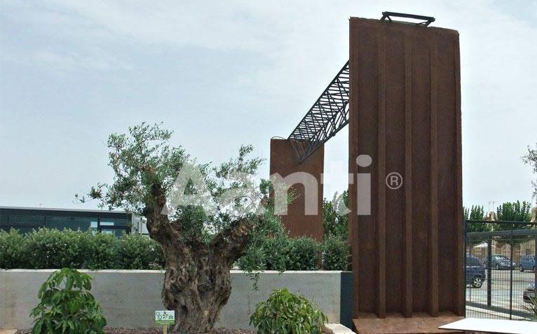Efectos xido de hierro zinc y cobre en camping los - Pintura para hierro exterior ...