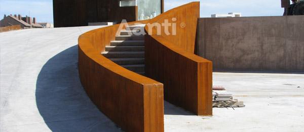 Pintura de xido de hierro para fachadas y decoraci n aanti - Mejor pintura para hierro exterior ...