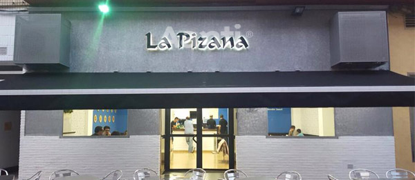 La Pizana Pizza shop in Lorquí