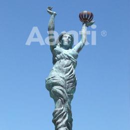 Restauración escultura romana en Cartagena