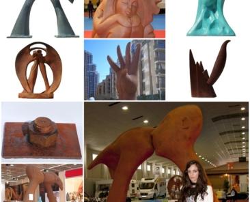 Esculturas con AANTI